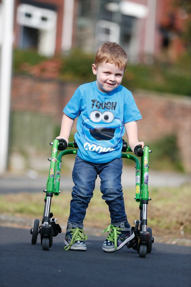 how to help a child in school with cerebral palsy