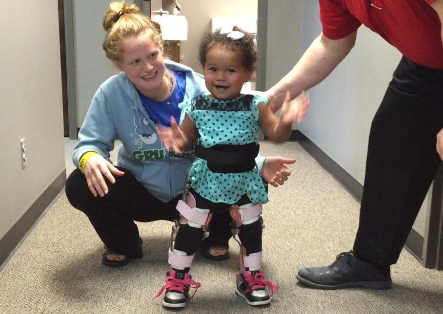 Congenital Muscular Dystrophy Mobile Physiotherapy